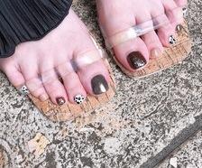 お客様 footnail